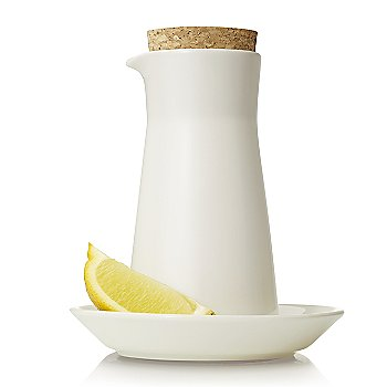 Teema Milk Jar with iittala Teema White Dinnerware