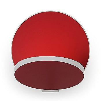 Matte Red Shade / Matte White Base