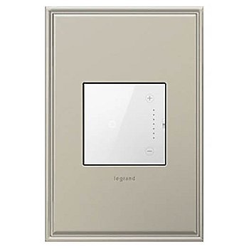 Shown in White finish (faceplate sold separately)