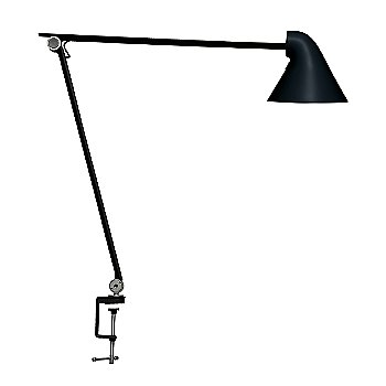 Shown in Black finish, Table Clamp