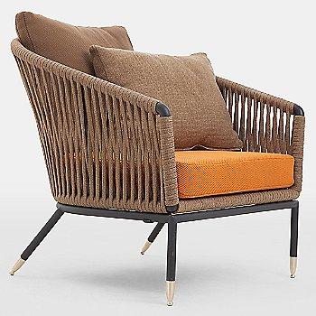 C7 Lounge Chair Seat Cushion