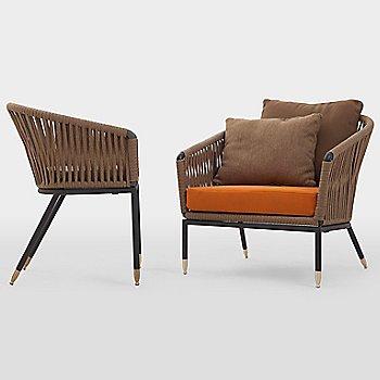 C7 Lounge Chair Seat Cushion with Club 7 Chair
