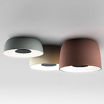 label=Djembe 2C LED Flush Mount Ceiling Light with Djembe C 42 LED Flush Mount Ceiling Light