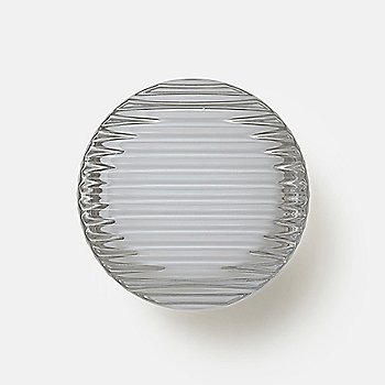 Shown in Chrome in use as wall sconce