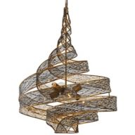 Modern Copper Chandeliers
