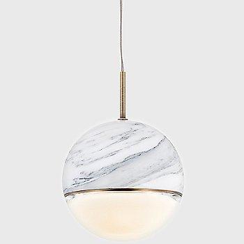 Shown in Gloss Carrara Marble