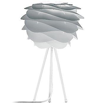 Shown in Misty Grey shade, White base