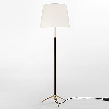 White Linen / Polished Brass