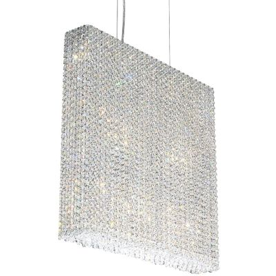Schonbek lighting refrax strip pendant light ylighting mozeypictures
