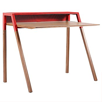 Shown in Walnut and Red