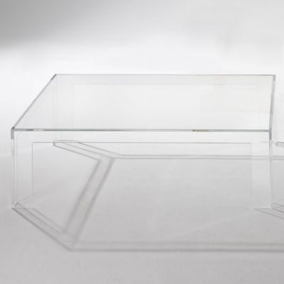 MacMaster Expose Coffee Table YLightingcom - Invisible coffee table