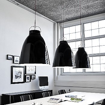 Large / Gloss Black shade