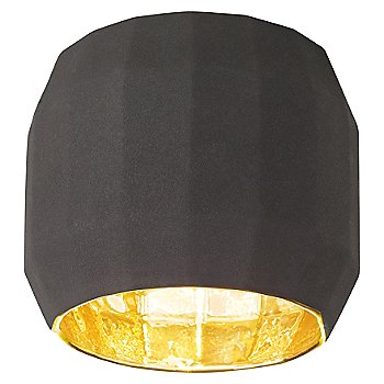 Shown in Black with Gold