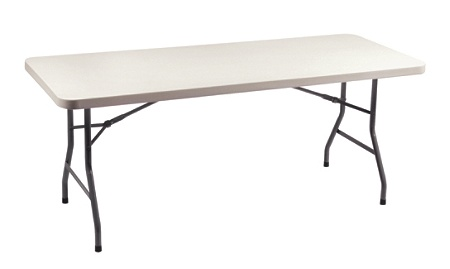 Realspace Folding Table 60 W x 30 D White by Office Depot OfficeMax