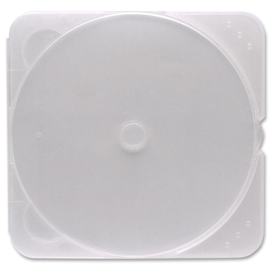 verbatim cd and dvd trimpak storage cases clear 200 pk by office depot u0026 officemax