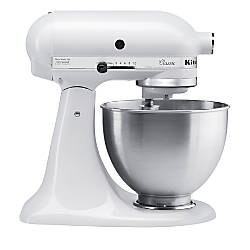 kitchen aid accessories kitchenaid 4 5 quart tilt stand mixer white by office 2166