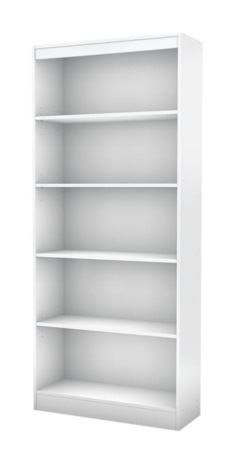 Nice South Shore Furniture Axess 5 Shelf Bookcase Pure White By Office Depot U0026  OfficeMax