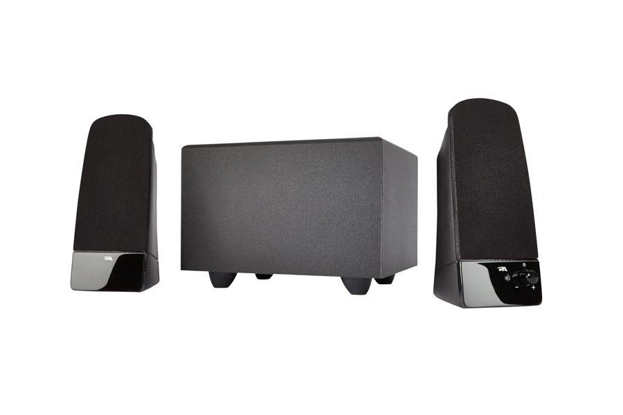 Cyber Acoustics G Blast 3 Piece Computer Speakers With Subwoofer