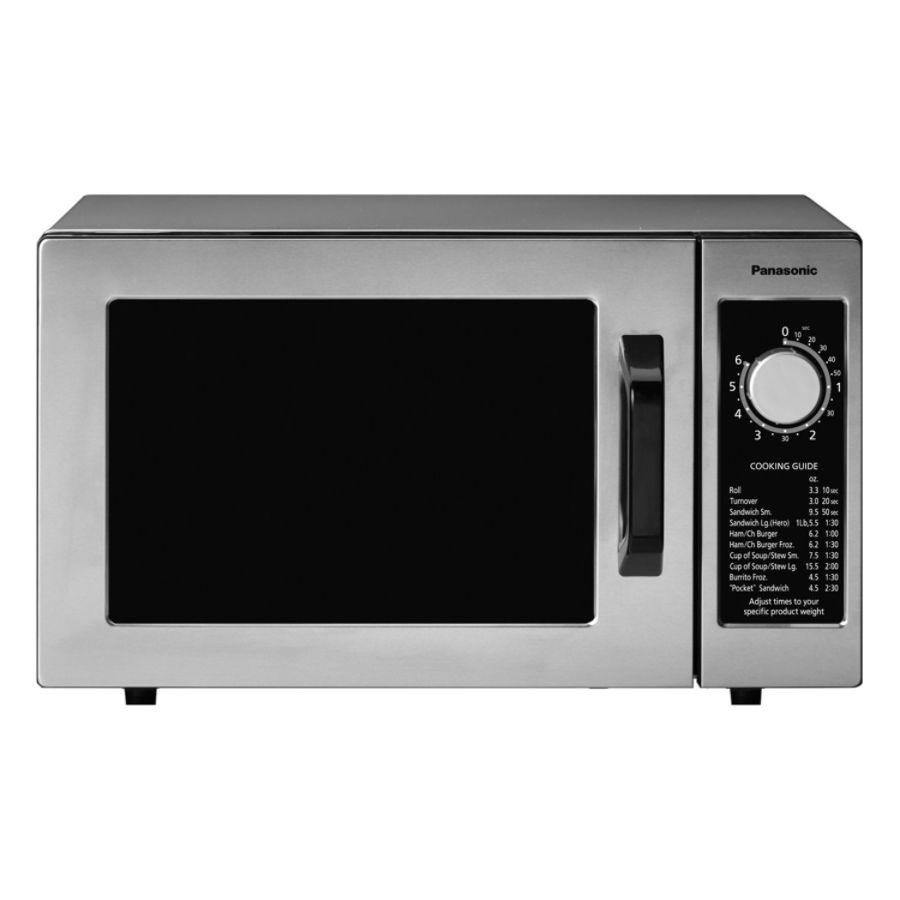 panasonic watt commercial microwave oven ne 1025f by office depot u0026 officemax