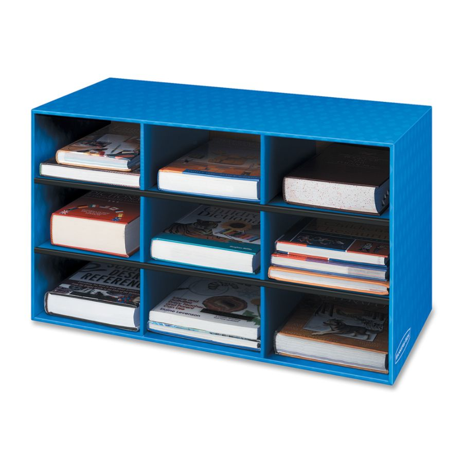 bankers box 60percent recycled classroom storage cubby 16 h x 283 w x 13 d blue by office depot u0026 officemax