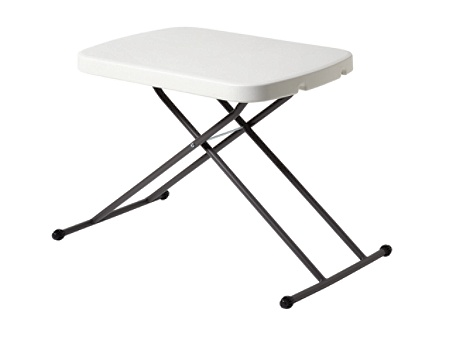 Realspace Personal Folding Table Charcoal by Office Depot OfficeMax