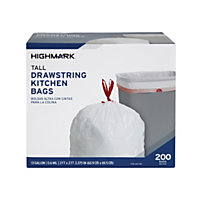 2000-Count (10 x 200-Pack) Highmark 13-Gallon Trash Bags
