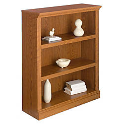 office depot shelves realspace premium bookcase 3 shelf carolina oak by office 23910