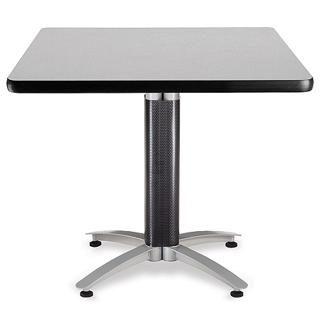 OFM Multipurpose Table Square 36 W x 36 D Gray by Office Depot & OfficeMax