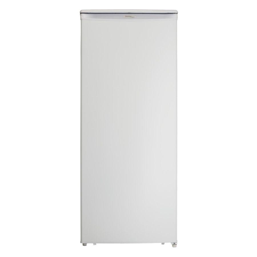 danby 85 cu ft designer upright freezer white by office depot u0026 officemax - Danby
