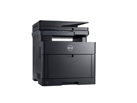 Dell H625cdw Laser Multifunction Printer Color Plain Paper Print