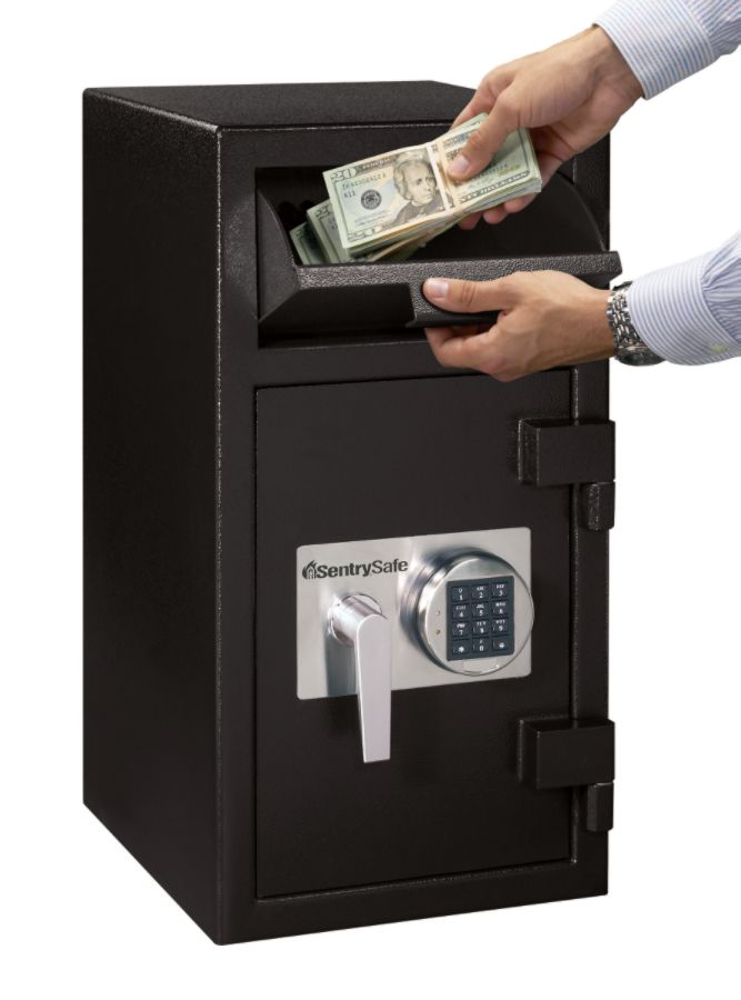 sentry safe dh 134e depository safe 16 cubic foot capacity by office depot u0026 officemax