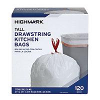 11 x 120-Pack Highmark 13-Gallon Drawstrings Kitchen Trash Bags