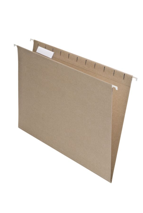 pendaflex earthwise 100percent recycled hanging file folders letter size natural pack of 25 by office depot u0026 officemax