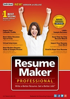 individual software resumemaker pro deluxe 20 traditional disc by office depot officemax - Individual Software Resume Maker