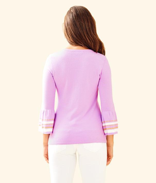 Callee Sweater, Lilac Freesia, large
