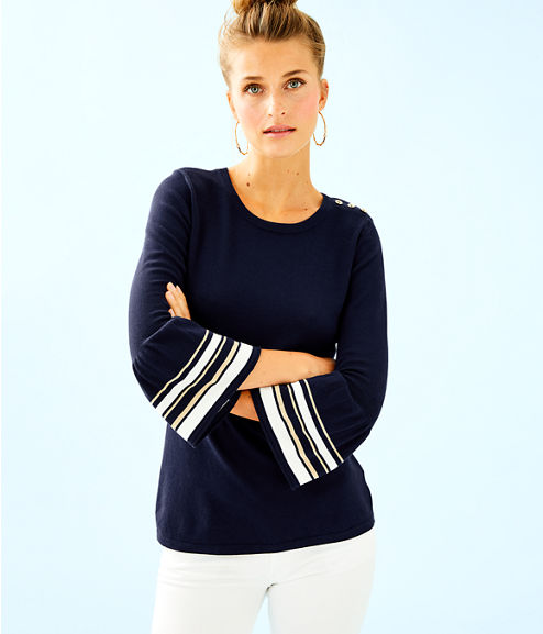 Callee Sweater, True Navy, large