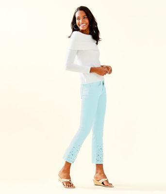 Christin Off The Shoulder Sweater, Resort White, large 2