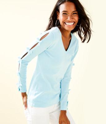 Edina Sweater, Whisper Blue, large 0