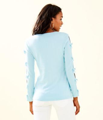 Edina Sweater, Whisper Blue, large 1