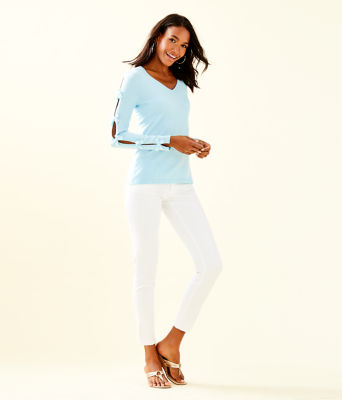 Edina Sweater, Whisper Blue, large 2