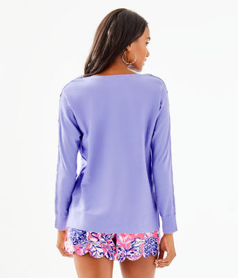 Milton Boatneck Sweater, Blue Hyacinth, large 1