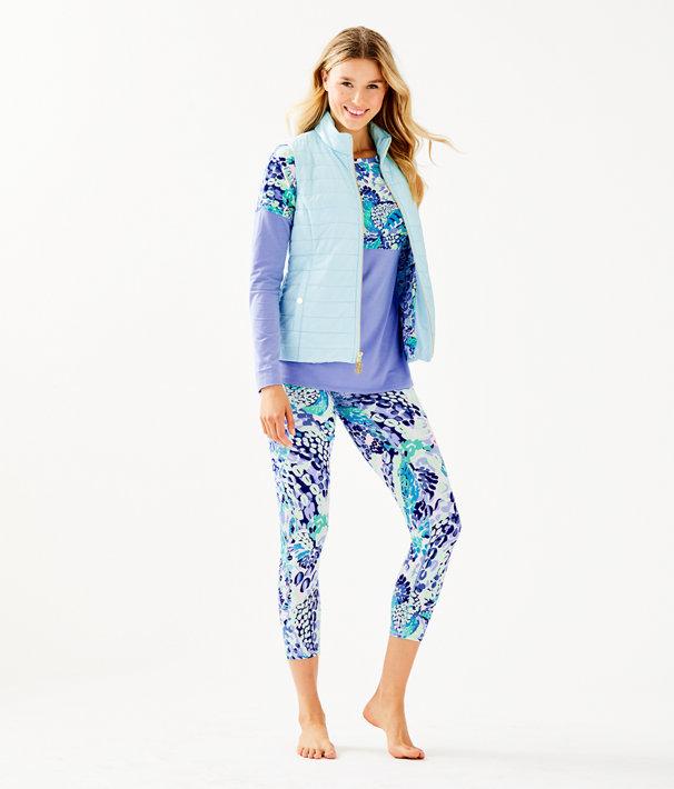 Elyn Puffer Vest, Whisper Blue, large