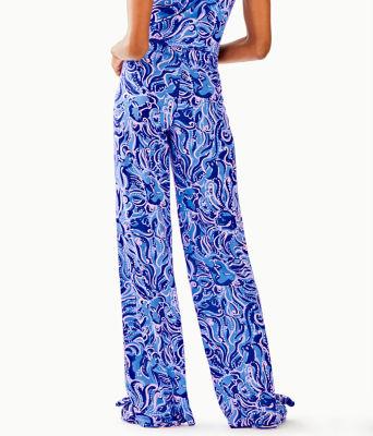 """30"""" Pj Knit Pant, Coastal Blue Whispurr, large"""