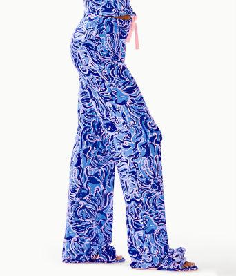 """30"""" Pj Knit Pant, Coastal Blue Whispurr, large 2"""