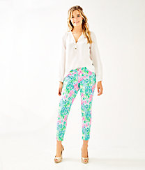 "29"" Kelly Skinny Ankle Pant With Petal Hem, , large"