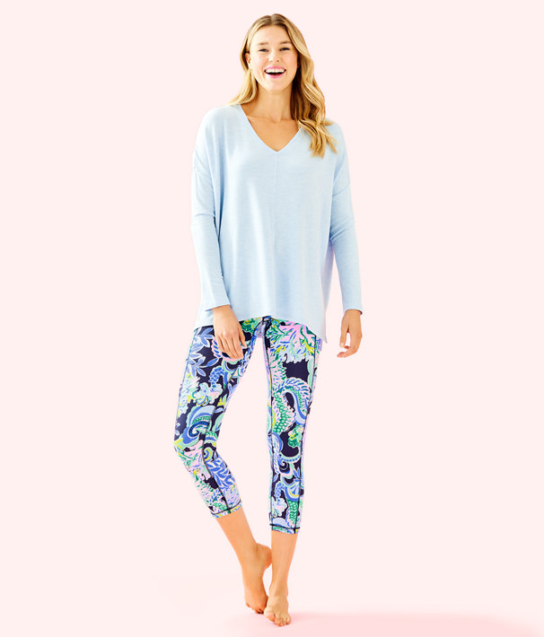 Luxletic Clifford Top, Heathered Crew Blue, large
