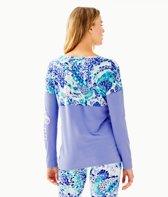 Finn Top, Turquoise Oasis Wave After Wave, large 1