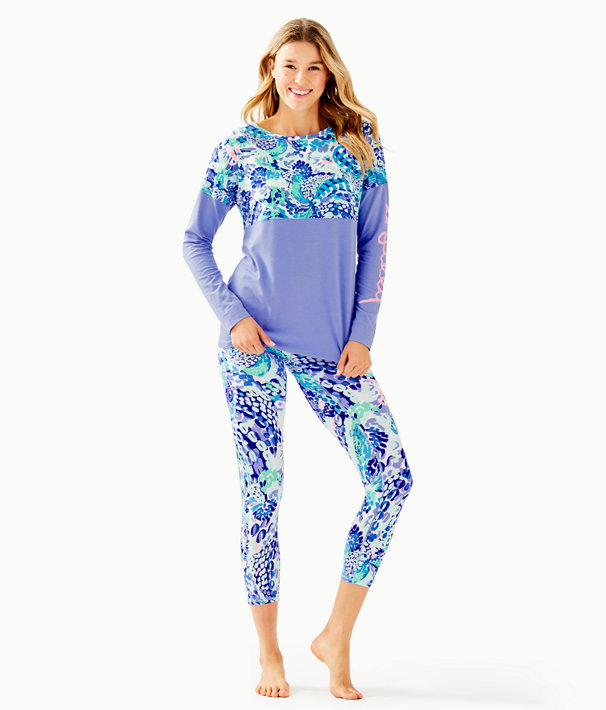 Finn Top, Turquoise Oasis Wave After Wave, large