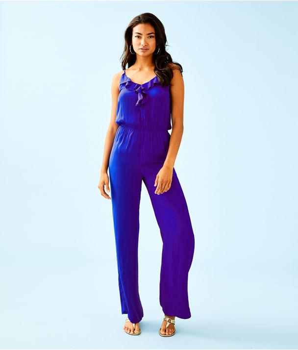 Tinley Jumpsuit, Royal Purple, large