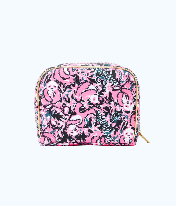 Escape Cosmetic Case, Hibiscus Pink Hangin With My Boo Accessories Small, large